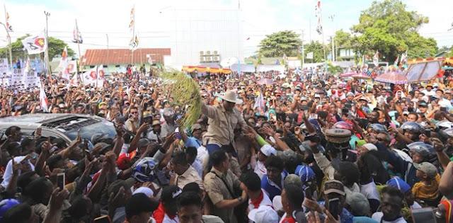 Dituding Massa Nasi Bungkus, Jubir BPN Minta Relawan Jokowi Perhatikan Videonya Baik-baik