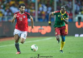 صور محمد صلاح مع منتخب مصر