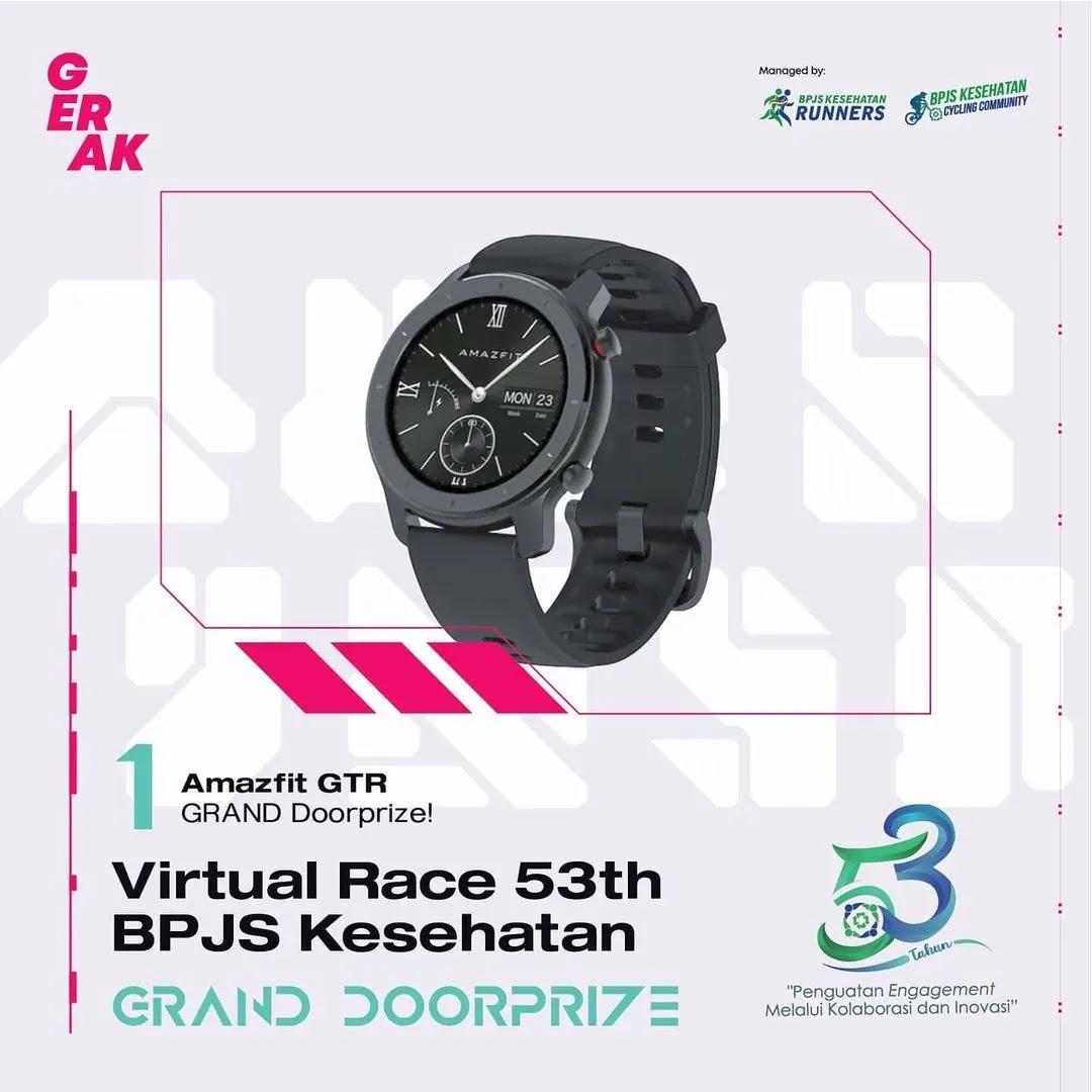 Luckydraw � Virtual Race 53th BPJS Kesehatan • 2021