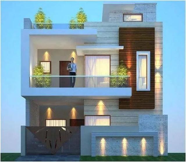 rumah 2 lantai minimalis