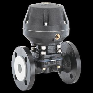 Industrial process control diaphragm valve Gemu