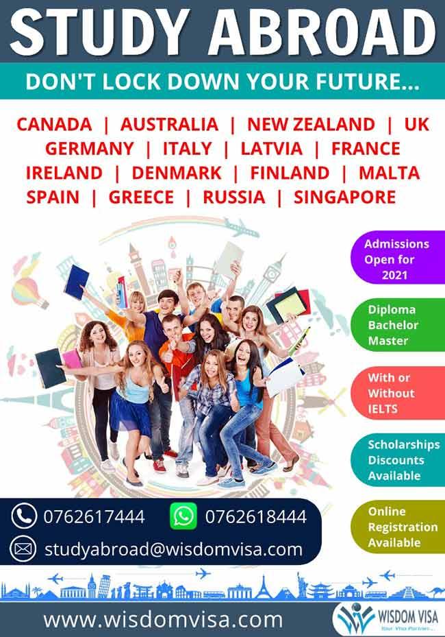 Study Abroad (Europe, Australia, New Zealand, Russia, Singapore )