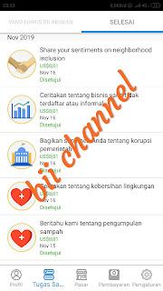 Aplikasi Penghasil uang legit 2020