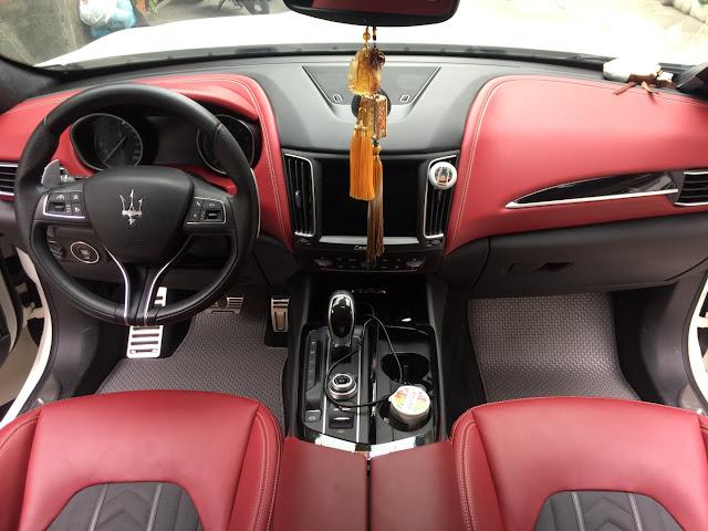 thảm lót sàn Maserati Levante