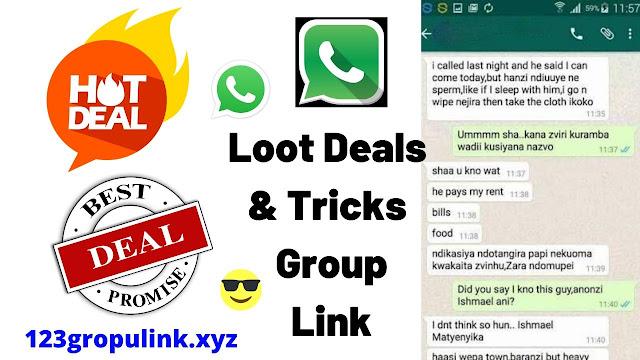 Join 600+ Loot Deals & Tricks Whatsapp Group Links