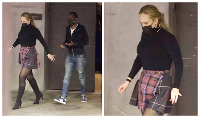 Adele Spotted on a date night with her boyfriend, Rich Paul