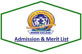 Moran College Merit List
