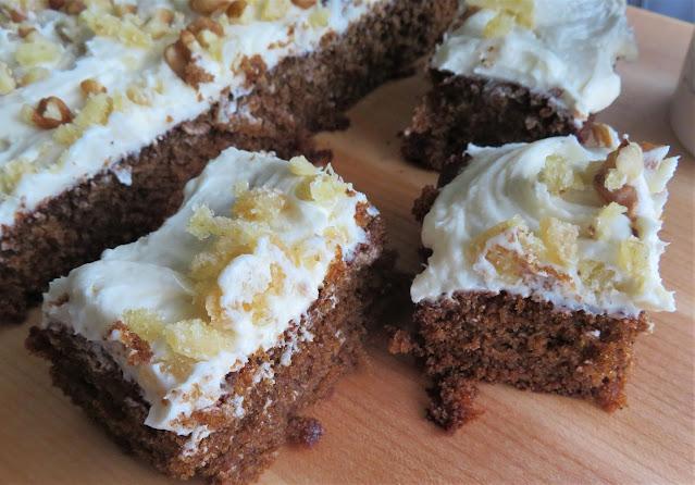Ginger-Cream Bars