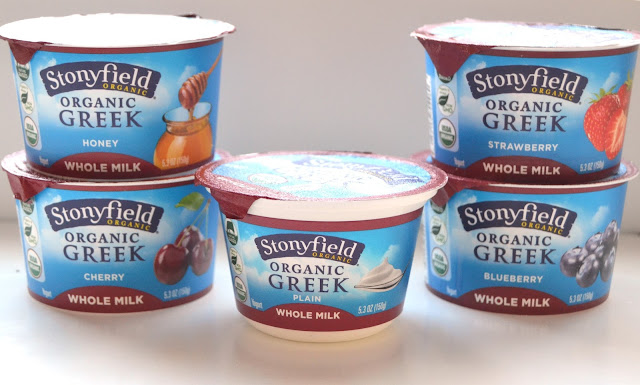 Stonyfield Organic Greek Yogurt