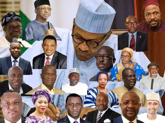 @MBuhari Retains Petroleum Ministry As He Assigns Portfolios To The Newly Inaugurated Cabinet Members