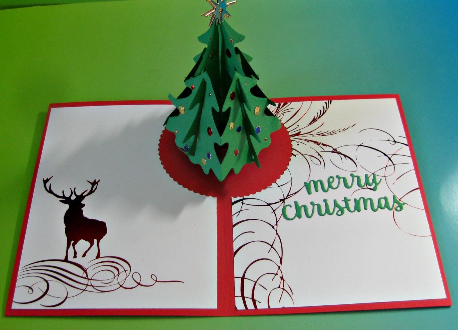 Karen's Kreative Kards: Another Pop Up Christmas Card With