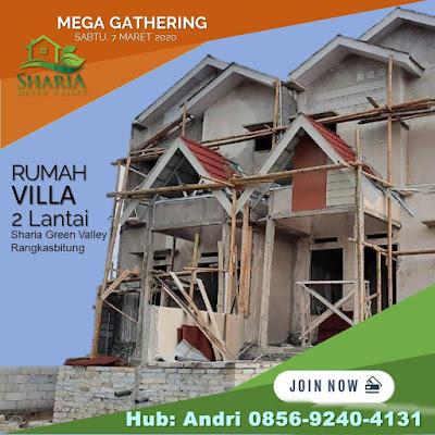Jual Rumah di Rangkasbitung Perumahan Sharia green Valley Kabupaten Lebak, Banten