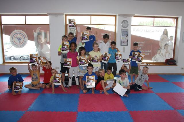 Sommercamp mit Ninja-Parcour