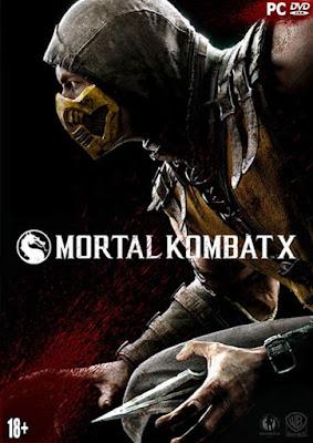 Cover do game Mortal Kombat X PC