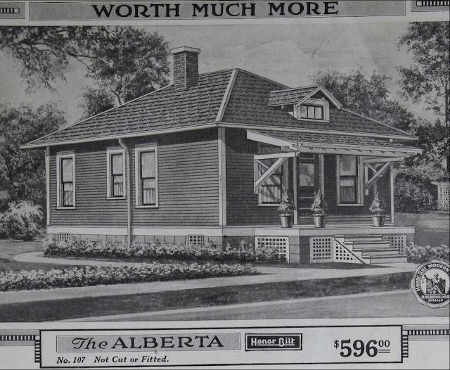 1918 catalog image of Sears Alberta