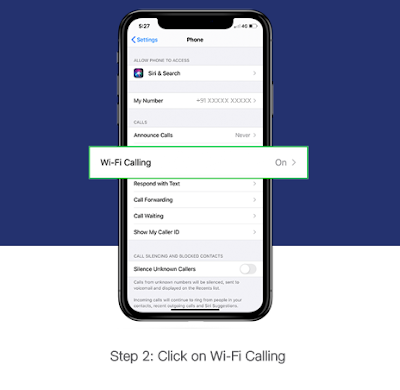 Click On Wifi Calling