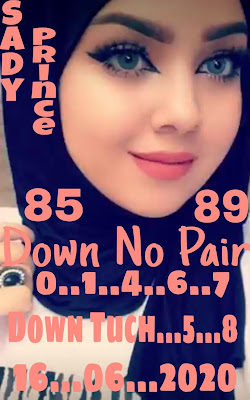 Thai Lottery 3up Sure Number VIP Papers Non Miss Blogspot 16 June 2020