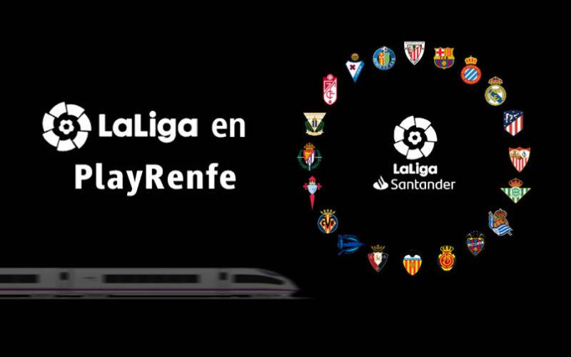 La Liga Renfe: logo del acuerdo