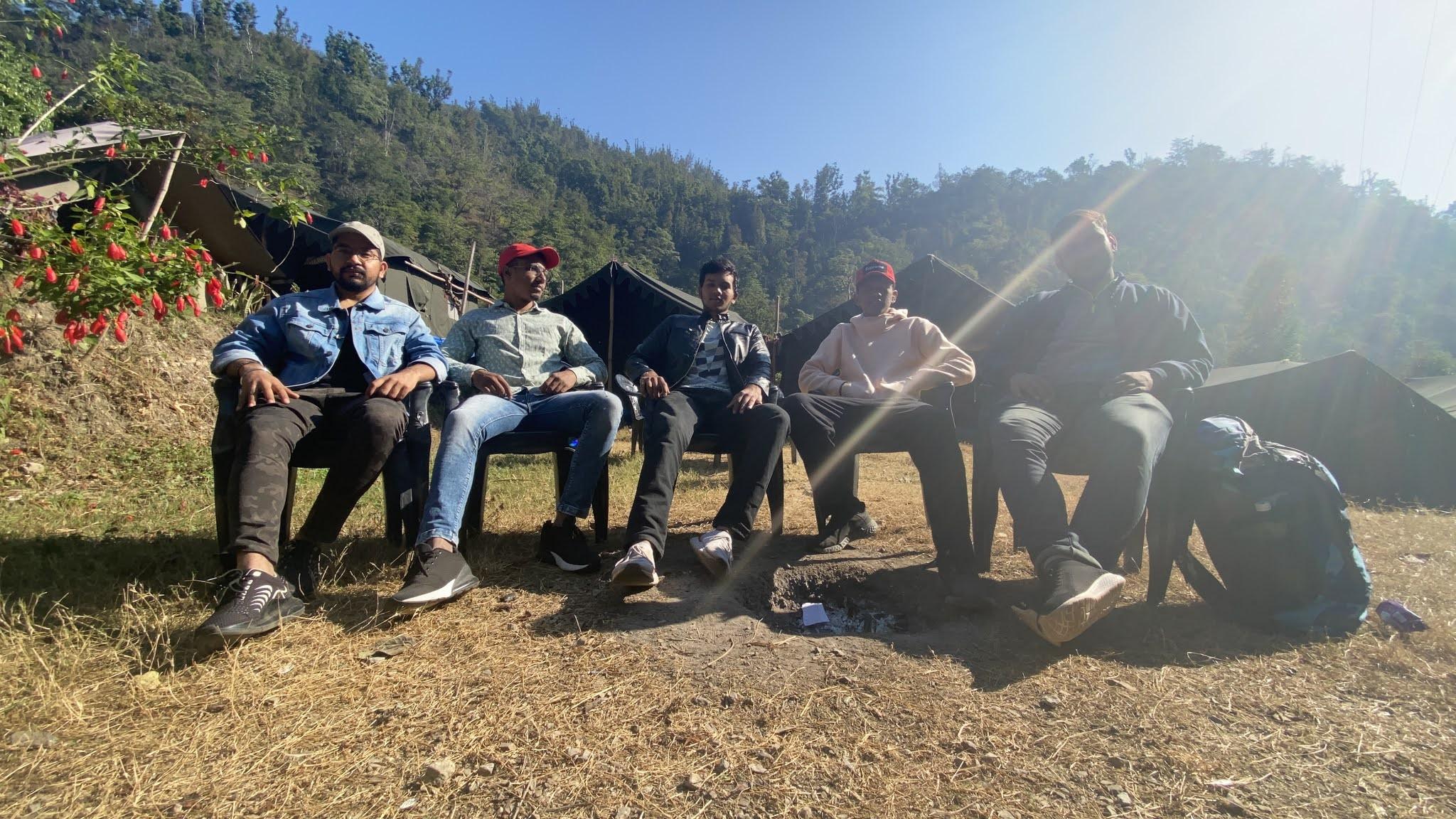 Farewell Time at Jungle Camp, Rishikesh