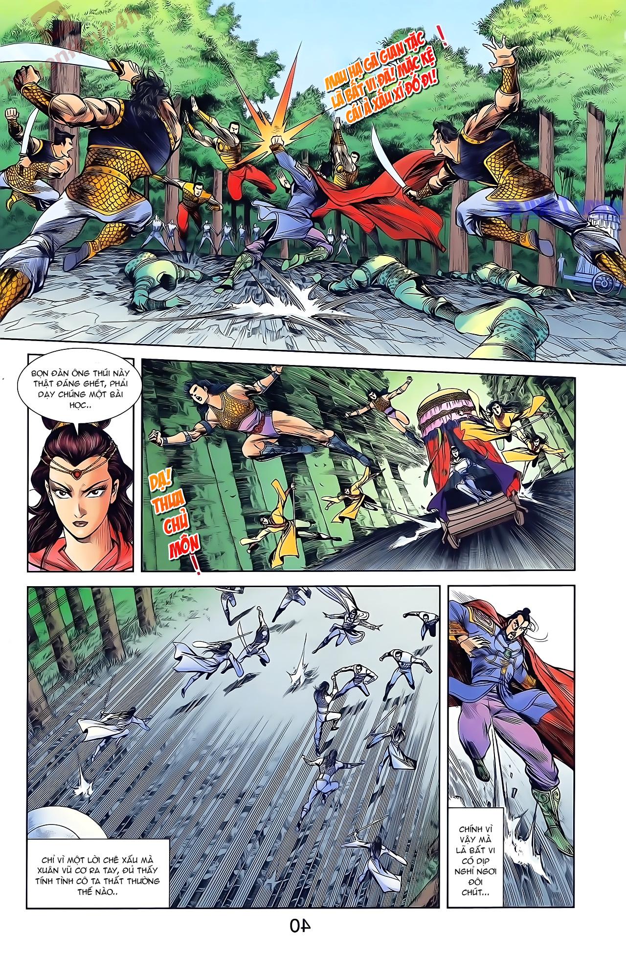 Tần Vương Doanh Chính chapter 46 trang 6