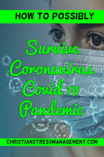 How to (possibly) survive coronavirus pandemic