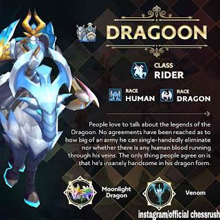 Update 5 chess rush hadirkan hero baru dragon
