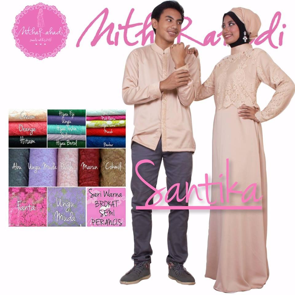 Outlet nurhasanah outlet baju pesta keluarga muslim Baju couple gamis dan koko