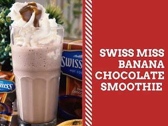 How To Make Swiss Miss Banana Chocolate Smoothie