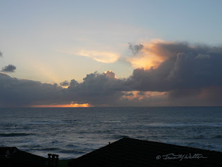 December View from Otter Rock condo ©2016 Tina M.Welter