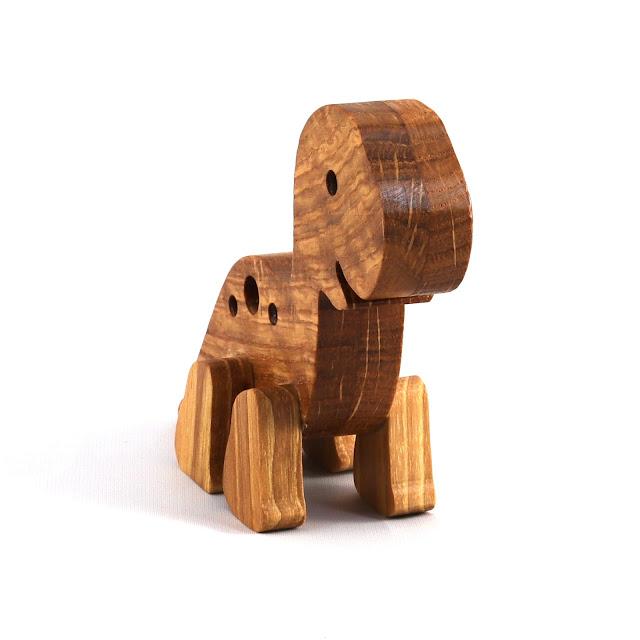 Baby Dinosaur - Handmade Wood Toy Anima