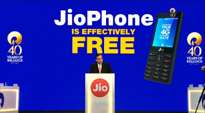 "Reliance Jio Announces Its New 4G Feature Phone At An ""Effective Price"" of Just Rs 0"