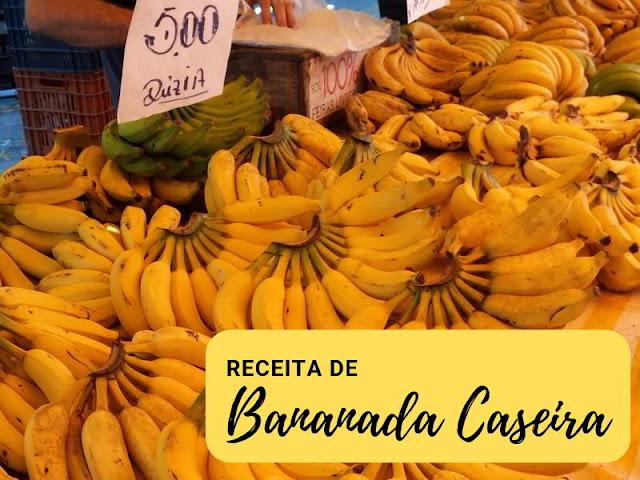 bananada como fazer
