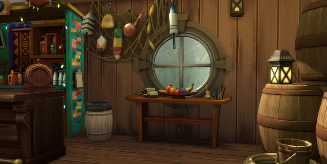 """Плавучий бар """"Капитан Кук"""" для Sims 4 со ссылкой для скачивания"""