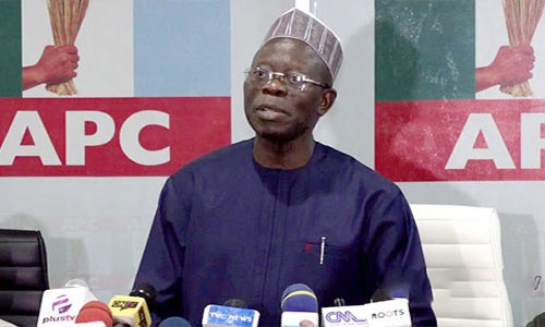 JUST IN: Appeal Court puts off hearing in Oshiomhole's appeal