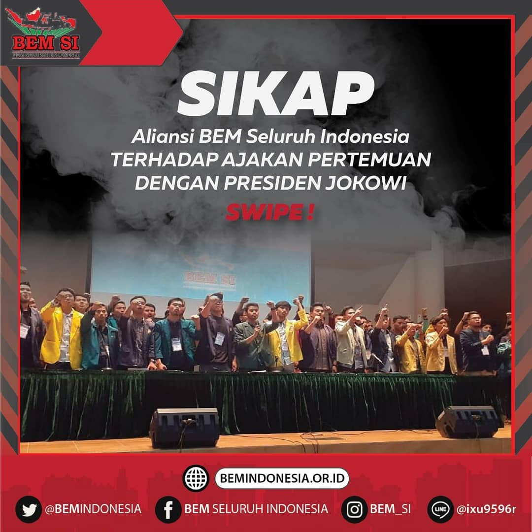 Tolak Bertemu Jokowi, BEM SI Ungkap Pengalaman Pahit