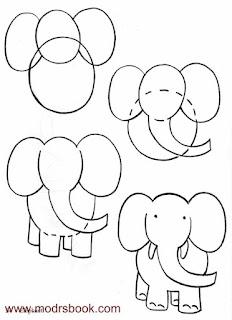 كيفية رسم الحيوانات خطوة بخطوة