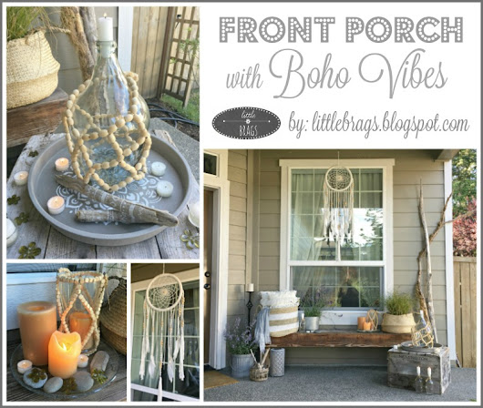 Front Porch with Boho Vibes
