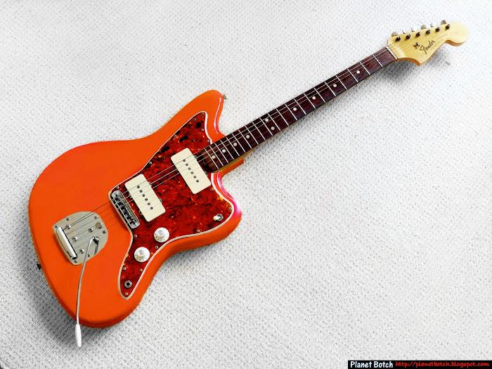 Fiesta Red Jazzmaster