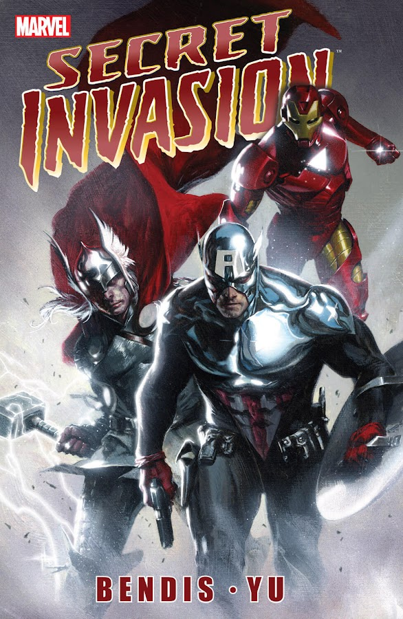 secret invasion marvel comics brian michael bendis gabriele dell'otto