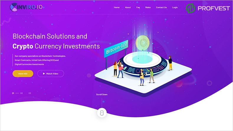 InViro обзор и отзывы HYIP-проекта
