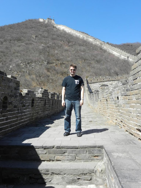 troutrageous t party great wall of china