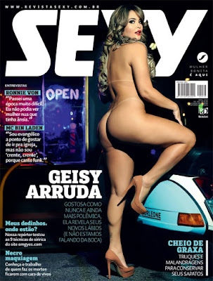 Download - Revista Sexy: Geisy Arruda - Abril 2016