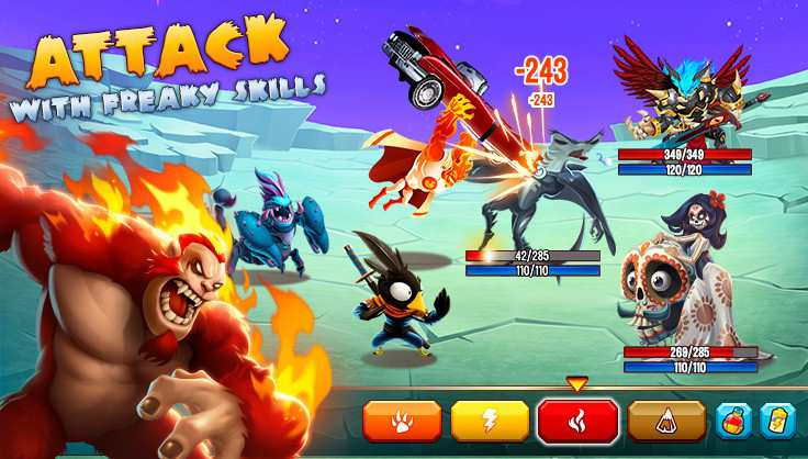 Monster Legends Apk Mod Features