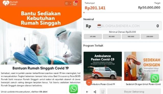 Donasi Lebih Mudah Melalui Rumah Zakat