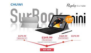 تخفيض تابلات Chuwi SurBook Mini