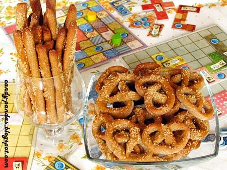 Paluszki i precelki gryczane z batatów (bez glutenu, cukru, laktozy, wegańskie)