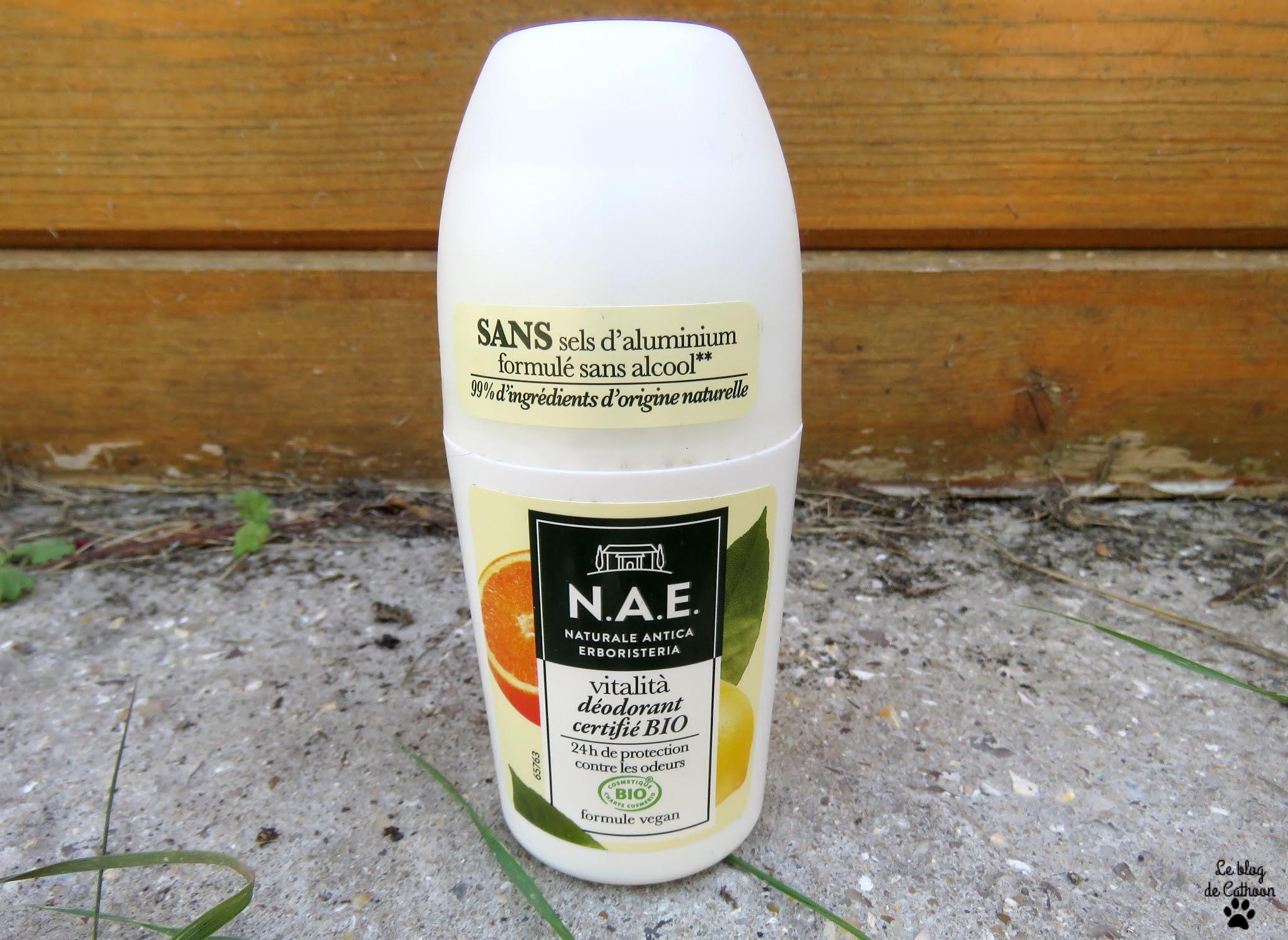 Vitalita - Citron Bio et Mandarine - N.A.E