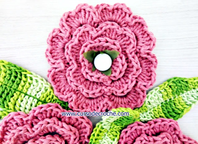 flores de croche com edinir-croche primavera 2016 aprender croche dvd curso de croche