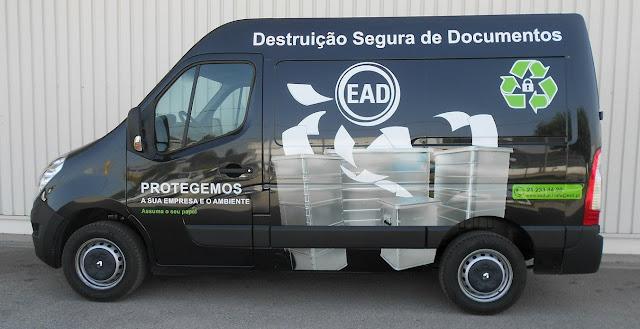 EAD reciclou 393 toneladas de arquivo em 2019