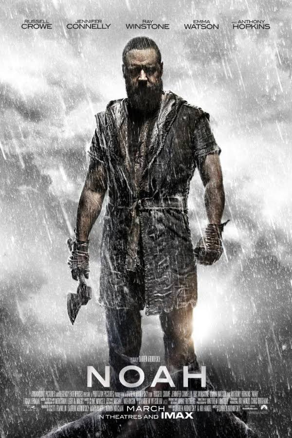 Noah (2014) Dual Audio Hindi 450MB BluRay 480p ESubs